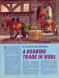In the Days of Our Forefathers: A Roaring Trade in Wool