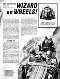 Men and Motors: Wizard on Wheels!