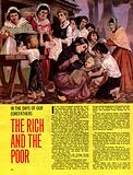 In the Days of Our Forefathers: The Rich and the Poor