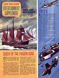 Men and Machines: Queen of the Frozen Seas, plus Fritz-X