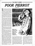The Great Clowns: Poor Pierrot