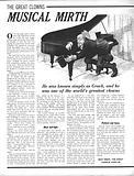 The Great Clowns: Musical Mirth