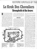 Historic Castles of the World: Le Krak Des Chevaliers, stronghold of the brave