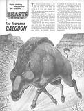 Beasts of Long Ago: The Fearsome Daeodon