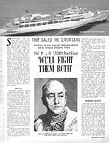 "They Sailed the Seven Seas: The P & O Story –  ""We'll Fight Them Both"""