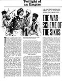 Twilight of an Empire: The War-Scheme of the Sikhs