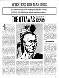 When the Red Man Rode: The Ottawas