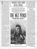 When the Red Man Rode: The Nez Perce