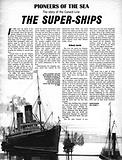 Pioneers of the Sea: The Super-Ships