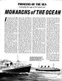 Pioneers of the Sea: Monarchs of the Ocean