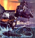 The Sub Killer. The Westland SH-3D Sea King helicopter.