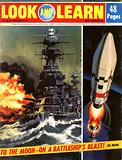 To the Moon –  on a Battleship's Blast!