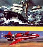 The Lloydsman tug and the BD-Micro