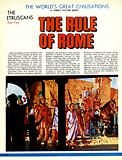 The Etruscans: The Rule of Rome