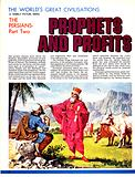 The Prophet Zoroaster addressing a peasant herdsman