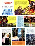 The Knights of the Round Table: Arthur Returns Excalibur