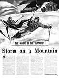 The Magic of the Olympics: Storm on a Mountain