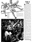 The Magic of the Olympics: Trouble on a Turn