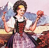 Swiss National Dress