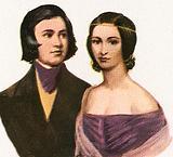 Robert Schumann and Clara Schuma