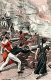The Bombardment of Algiers led by Lord Exmouth