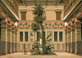 Courtyard of an Egyptian house