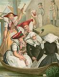 German costume, Preussen, Spreewald