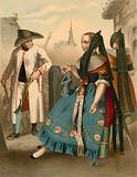 German costume, Braunschweig