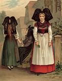 German costume, Elsass Geispolsheim