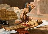 Death of Chief Caonabo in Hispaniola