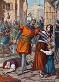 Theodoro sacks Ravenna in 709 on orders of Justinian II