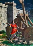 Landemaro during the siege of Salerno, 871