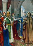 Frederick Barbarossa and Arnold of Brescia