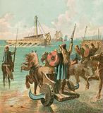 Romans conquer Britain