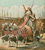 Boadicea and her army