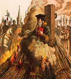 The Burning of Cranmer