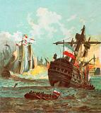 Defeat of the Dutch Fleet