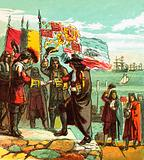 Landing of William of Orange