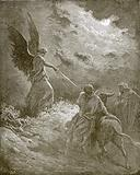 The angel appearing to Balaam