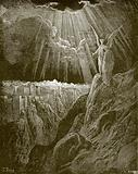 The angel showing Jerusalem to St John