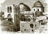 The church of the holy sepulchre at Jerusalem