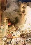 The destruction of Jericho