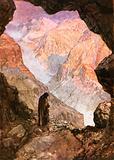 Elijah in the desert of Horeb