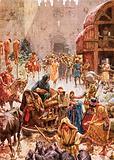 The fall of Samaria