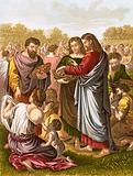 Christ feedeth the multitude