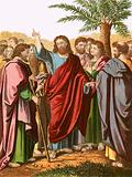 Christ sending forth his disciples