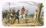 Edmund king of East Anglia killed by the Danes
