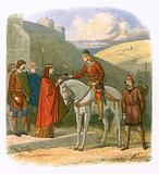Edward murdered at Corfe