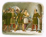 William de Breteuil defends the treasury