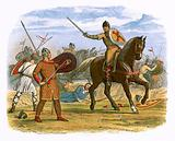 Robert taken prisoner by the clerk Baudri